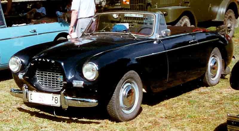 1956 Volvo P1900 Sport Cabriolet bl