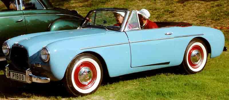 1956 Volvo P1900 Sport Cabriolet