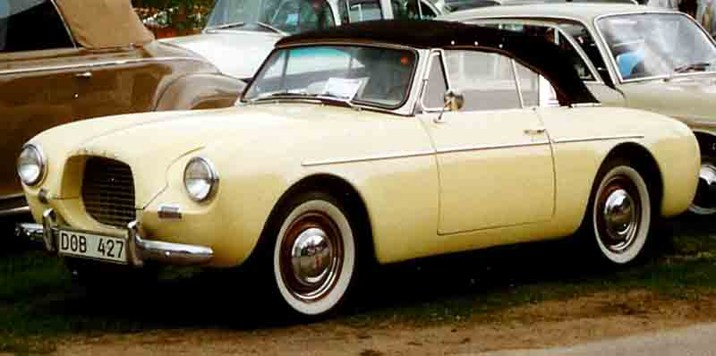 1956 Volvo Sport Cabriolet
