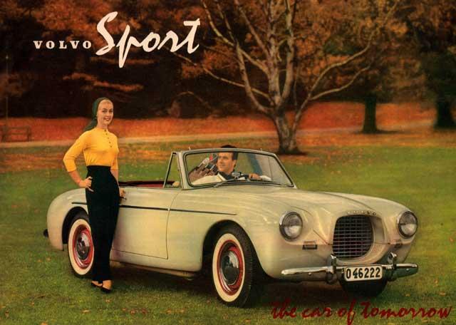 1956 volvo sport