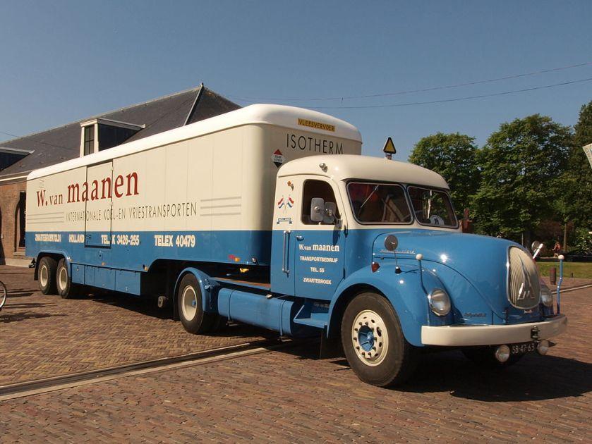 1957 Magirus Deutz SHE 3506, Dutch licence registration SB-47-63