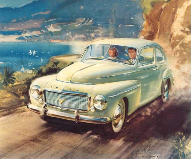 1957 volvo 444
