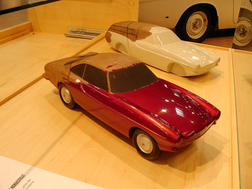 1957 Volvo P1800 Plaster models