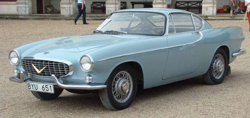 1957 Volvo Prototype P958-X1 concept by Frua Italy
