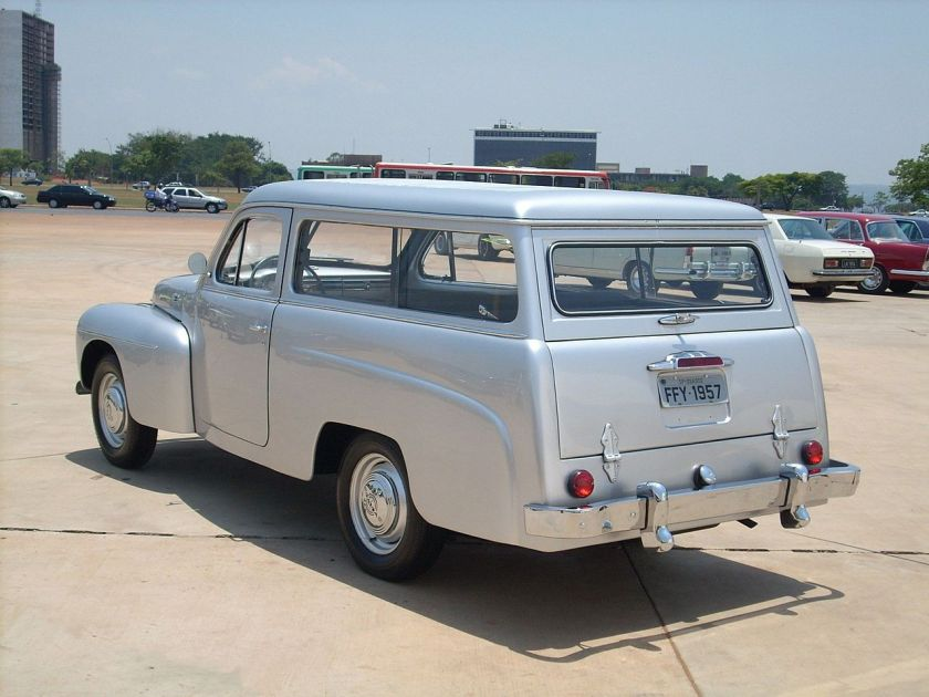 1957 Volvo PV445 (1957), assembled in Rio de Janeiro, Brazil, by Carbrasa.