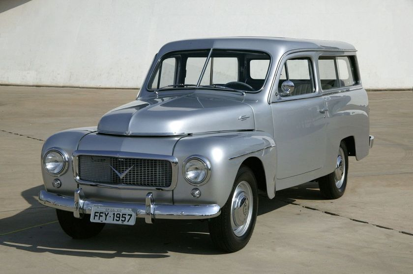 1957 Volvo PV445, assembled in Rio de Janeiro, Brazil, by Carbrasa