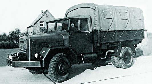 1958 Magirus-Deutz A6500, 4x4