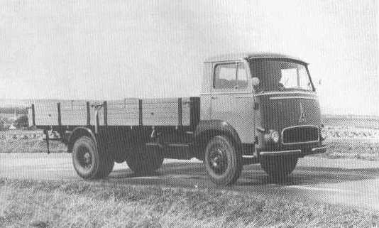 1958 Magirus saturn 145fl