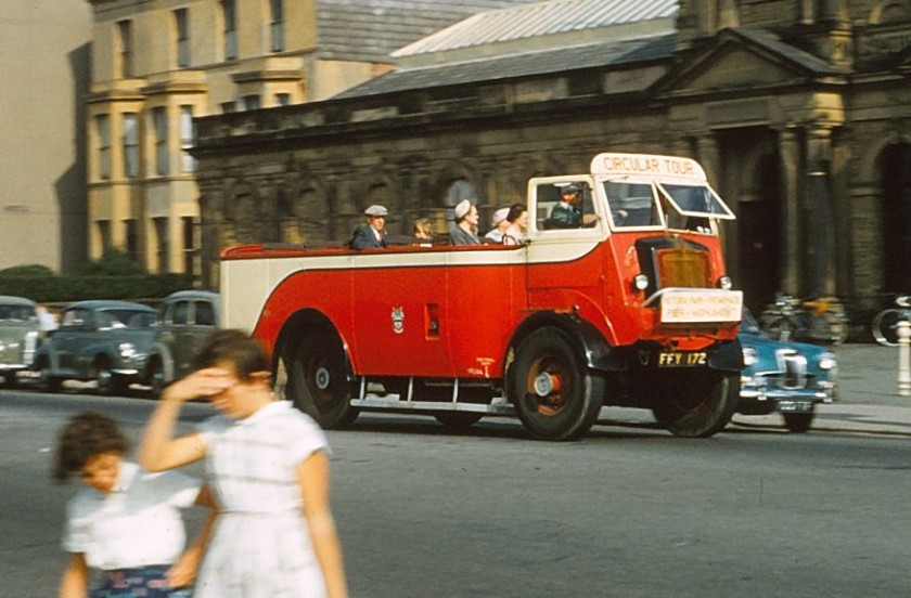 1958 Southport beach bus (MCW 234J Magirus-Deutz of unknown model and bodywork)