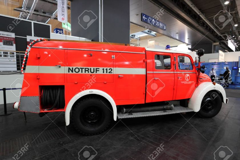 1960 Magirus Deutz fire truck