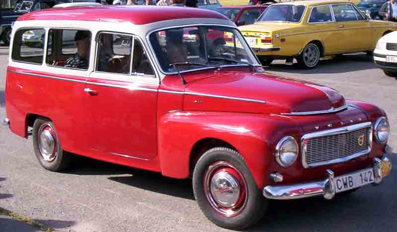 1960 Volvo P 21134 A Duett 2