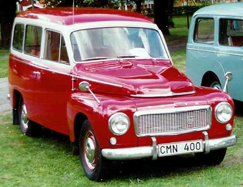 1960 Volvo P 21134 A Duett