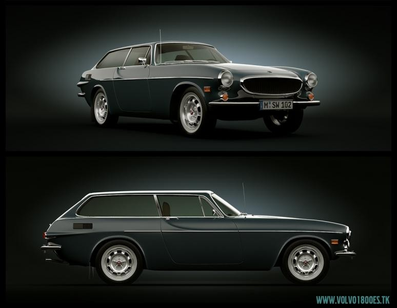 1961-73 Volvo 1800 reclame