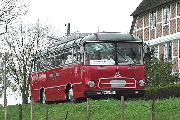 1962 Magirus Saturn II Reisebus Verkehrsbetriebe Hamburg-Hollstein VHH