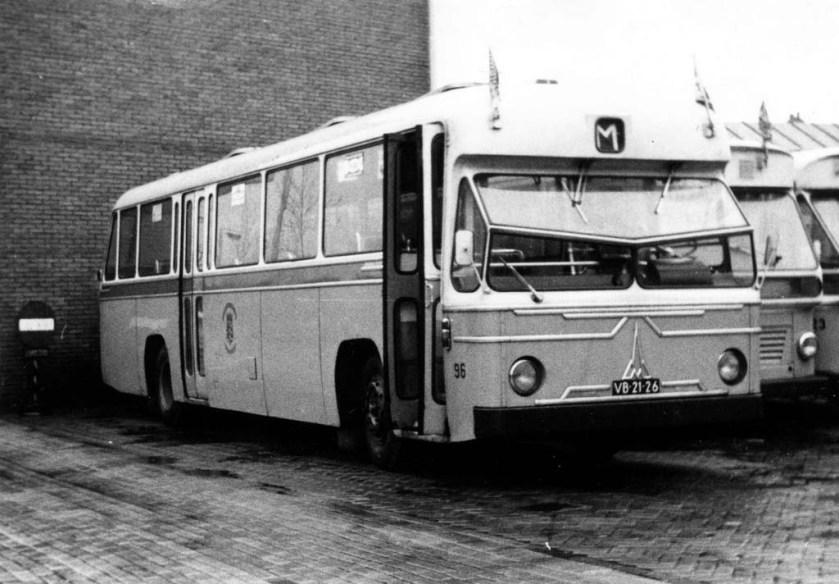 1963 Magirus Deutz De City 96