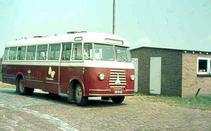 1964 Magirus Deutz 22 Citroenvlinder