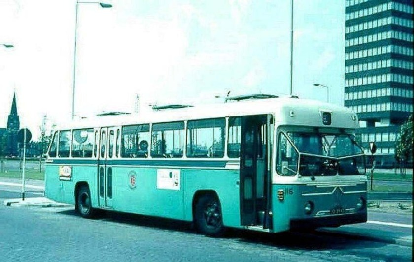 1964 Magirus Deutz De City 116