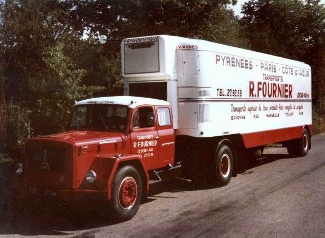 1964 Magirus Deutz des Transports Fournier