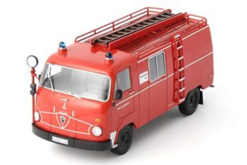 1964 Magirus Faun F24 LF8 fire engine Germany Red NEW!