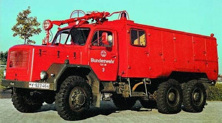 1964 TLF3800 firetruck on Magirus 178D15A chassis