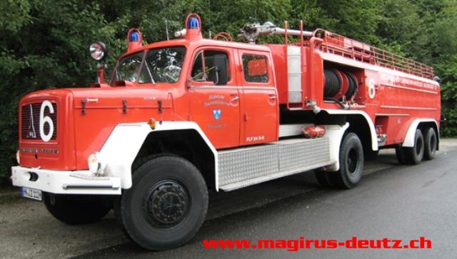 1965 Magirus Deutz FLF 24 S