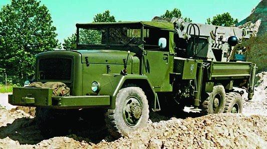 1965 Magirus-Deutz Jupiter chassis,  Evacuator