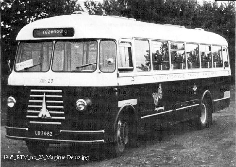 1965 Magirus Deutz no23 RTM Dagpauwoog