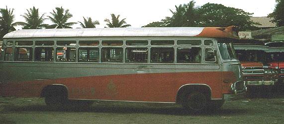 1965 Magirus Deutz Thai Bus Bangkok 101-5 MB