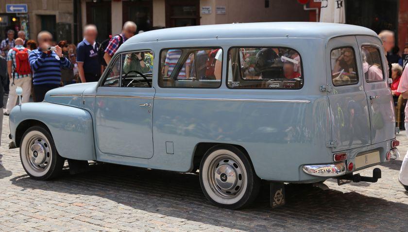 1965 Volvo P210 (Duett), model code 21134 E