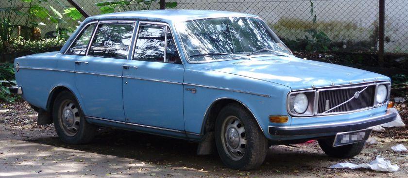 1966-74 Volvo 144 de Luxe
