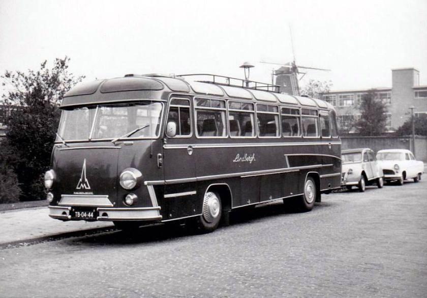 1966 Magirus Deutz lindbergh 45 Magirus Hoogeveen