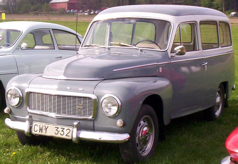 1966 Volvo 21134 F