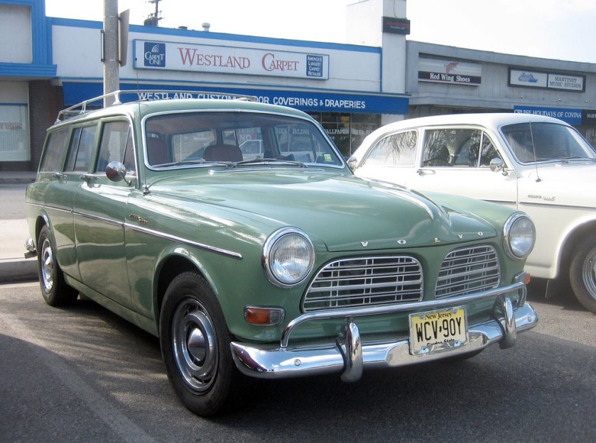 1966 Volvo Amazon station wagon