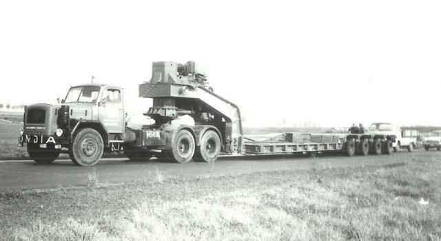 1967 Magirus Deutz URANUS civil du Transporteur Belge Mondia