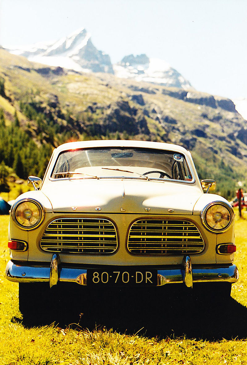 1967 Volvo 120 B18 Amazone in the Alps