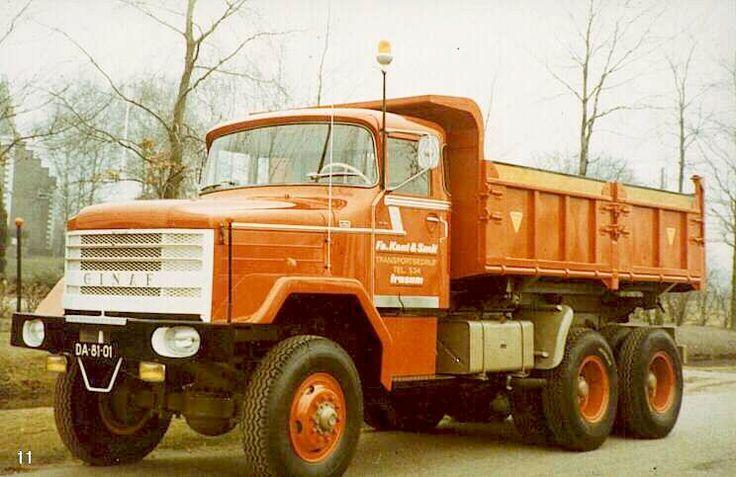 1968 De GINAF T12 DAF