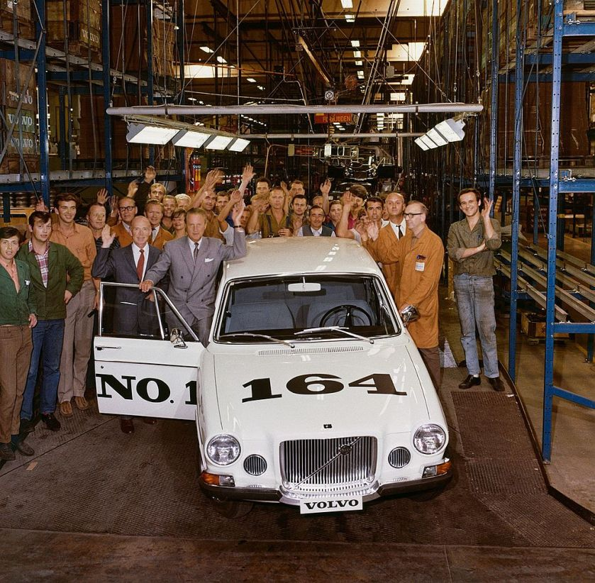 1968 The first 164 to roll off the production line in 1968