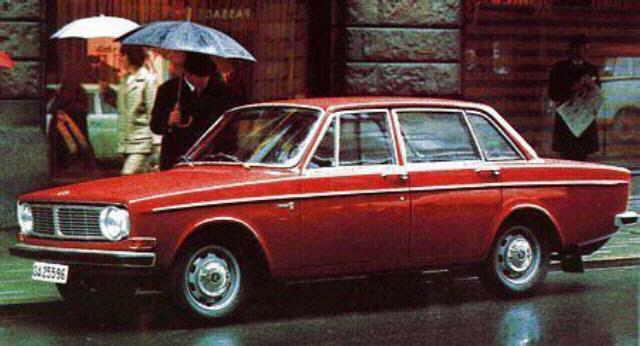 1968 Volvo 144 4