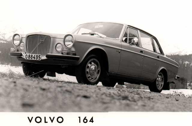 1968 volvo 164-bw