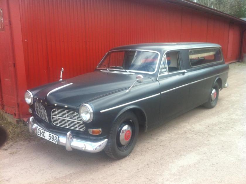 1968 Volvo Amazone Funeral car