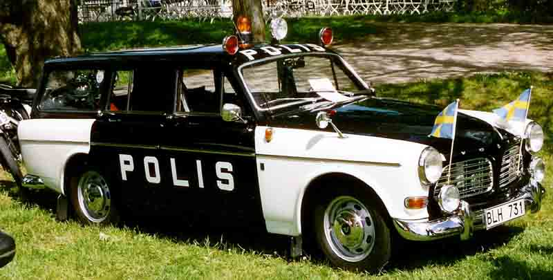 1969 Volvo 221-341 S Amazon Station Wagon Police