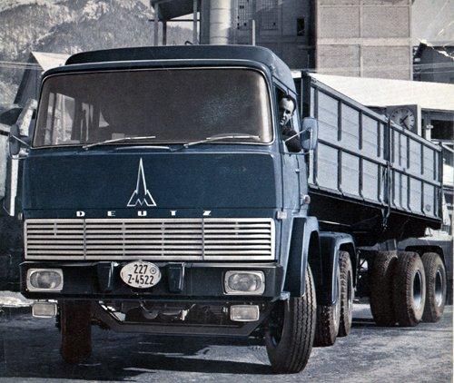 1970 Magirus Deutz 230D22