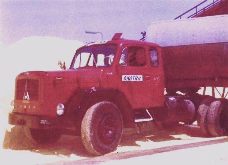 1970 Magirus Deutz Jupiter 210D19S refroidissement à air, des transports ONATRA