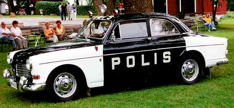1970 Volvo Amazon Sedan Police