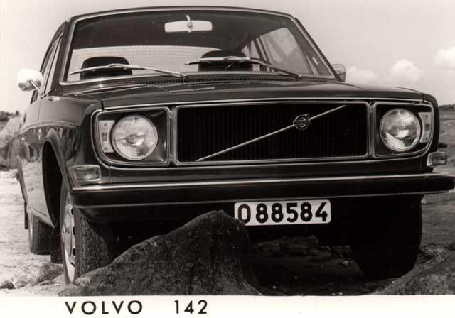 1971 volvo 142-bw
