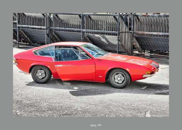 1971 Volvo 1800 ESC Prototype by Coggiola i