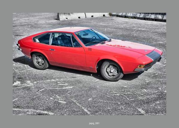 1971 Volvo 1800 ESC Prototype by Coggiola j