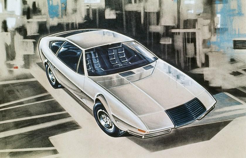 1971 Volvo 1800 ESC Viking Concept by Coggiola