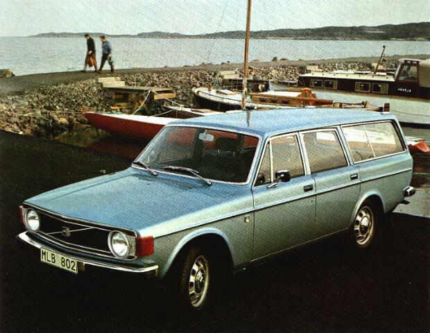 1972 Volvo 145 5