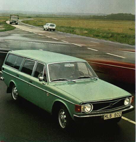1972 Volvo 145 6
